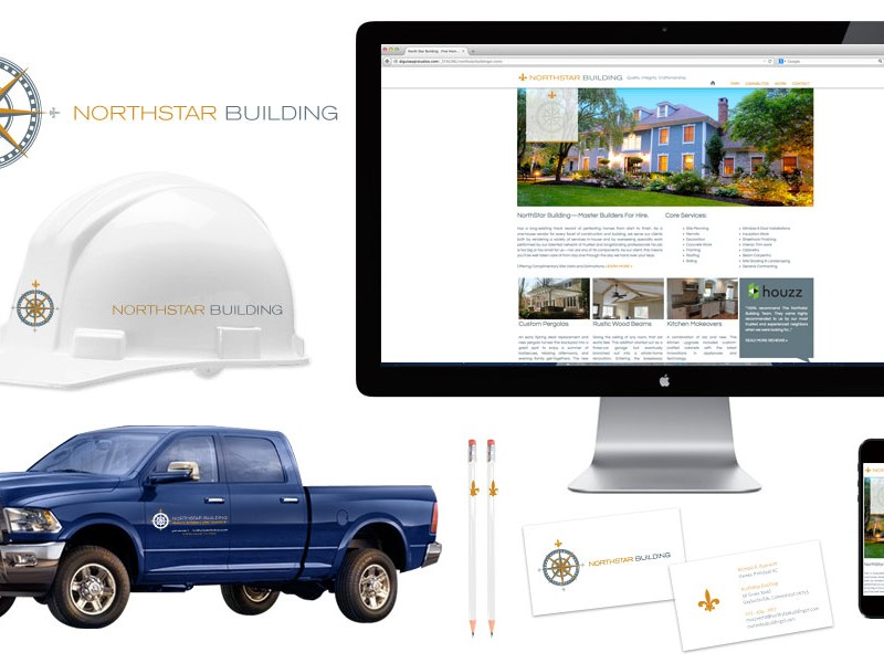 Northstar Home Building Company Logo and Branding