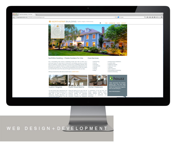 Northstar Building website design