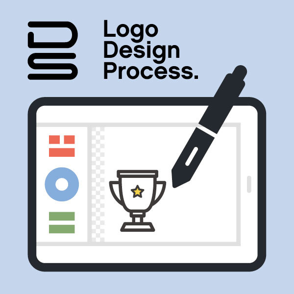 How to design a logo mark. The Logo design workflow process.