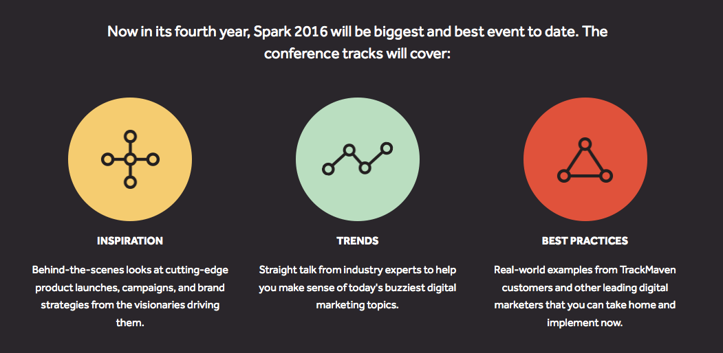marketing conferences infographics media talent