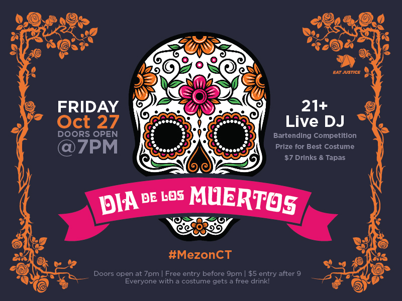 Mezon Does Dia De Los Muertos — Custom Advertising Graphics
