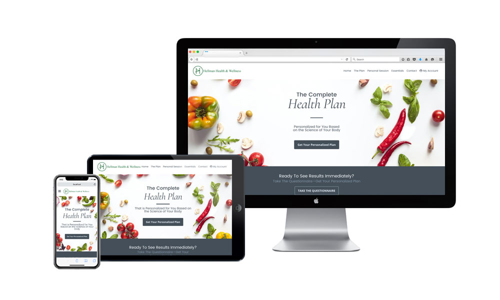 Case Study: Hellman Health & Wellness Builds A Proprietary Health Plan Assessment Portal.