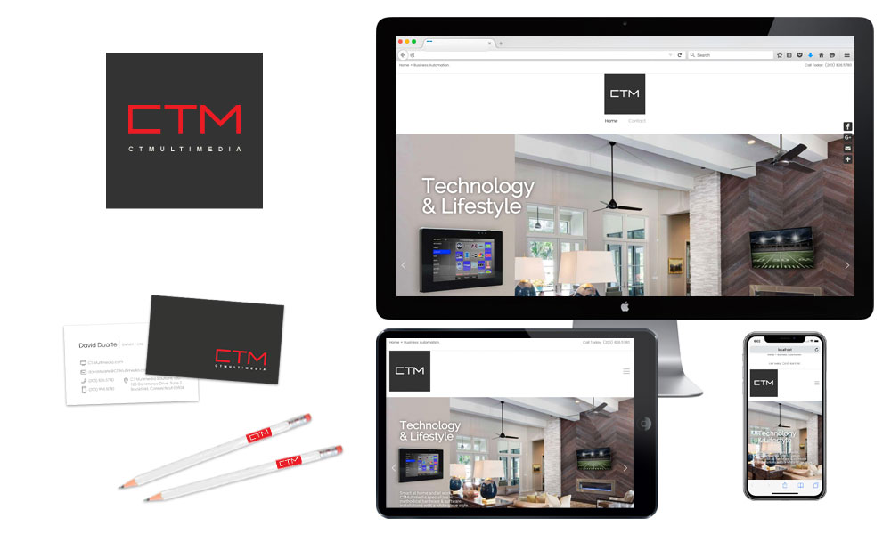 Case Study: CT Multimedia builds a home base and micro sales portal to connect with customers.
