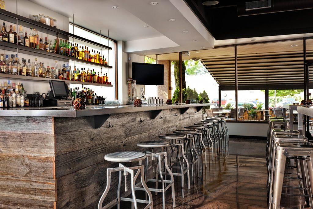 Bar area design baro