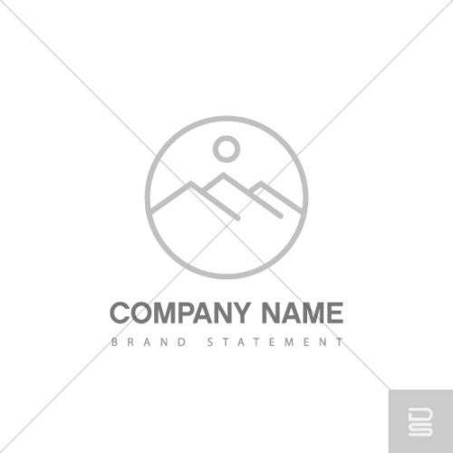 shop-premade-logo-minimalist-mountains-circle-logo-design-for-sale-in-fairfield-county-ct