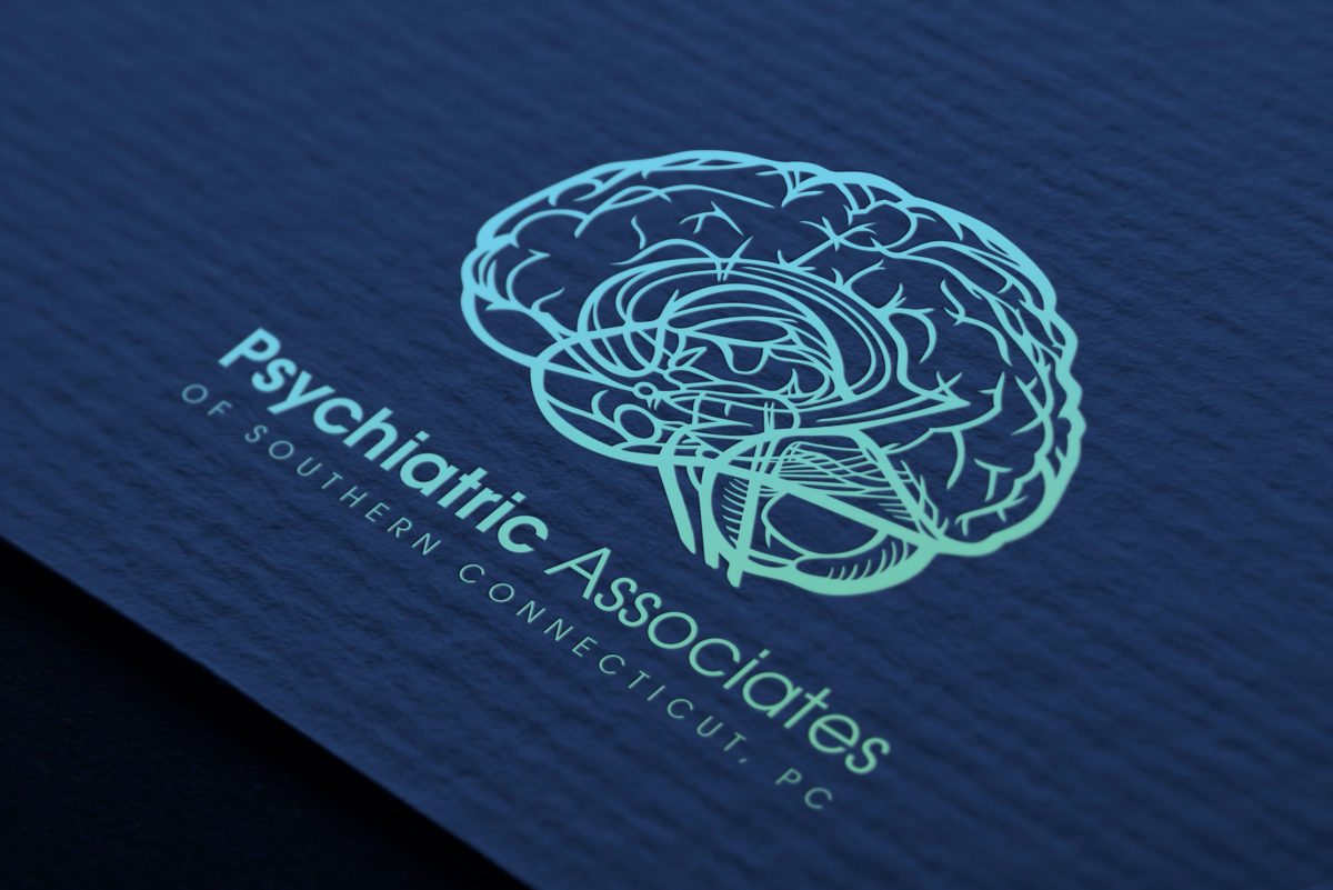 psychiatric associates of southern connecticut logo design westport milford ct